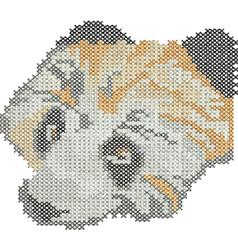 Cross Stitch Animal embroidery design