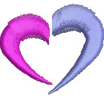 Modern Heart embroidery design