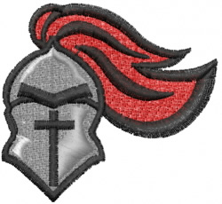 Knight Headgear embroidery design