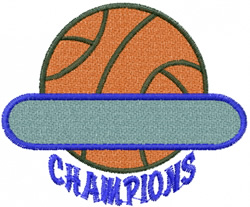 Basketball namedrop embroidery design