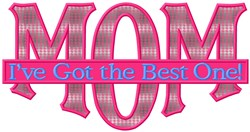 The Best One embroidery design