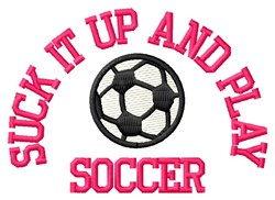 Play Soccer embroidery design