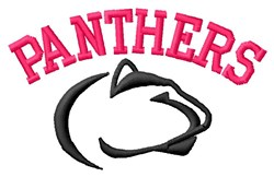 The Panthers embroidery design