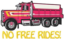 Pay For The Ride embroidery design
