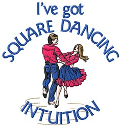 Square Dance Intuition embroidery design