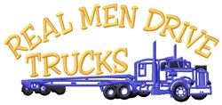 Truck For Man embroidery design