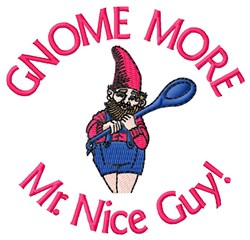 Mr. Nice Guy embroidery design