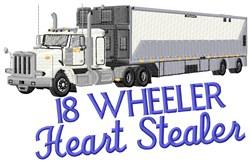 Big Wheeler Heart Stealer embroidery design