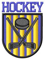 Hockey Stick embroidery design
