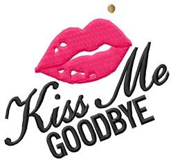 Goodbye Lips embroidery design