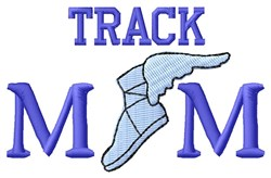 Track Mercury Mom embroidery design