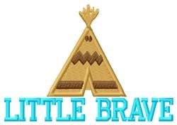 Little Brave Camp embroidery design