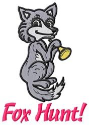 Fox Hunt embroidery design