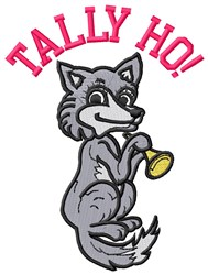 Tally Ho embroidery design