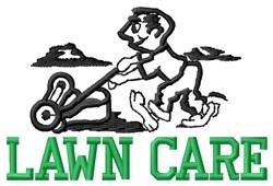 Lawn Care embroidery design