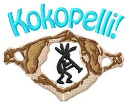 Kokopelli embroidery design