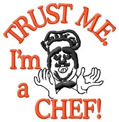 I am A Chef embroidery design