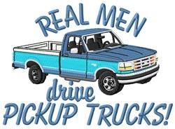 Pickup Trucks For Men embroidery design