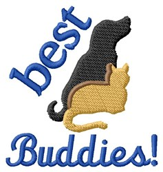 Best Buddies embroidery design