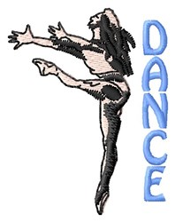 Dance With A Lady embroidery design