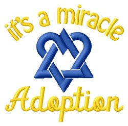 Miracle Of Adoption embroidery design