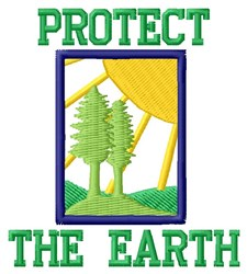 Protection For Earth embroidery design