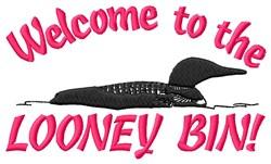 Looney Bin embroidery design