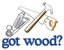 Carpenters Tool Kit embroidery design
