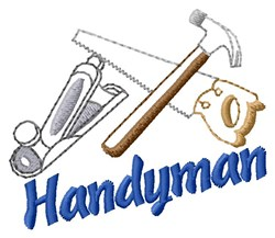 Tools For Our Handyman embroidery design