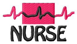 Nurse embroidery design