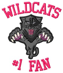 Wildcats Basketball Team embroidery design