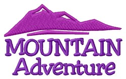 Adventure In Mountains embroidery design