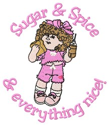 Sugar Babygirl embroidery design