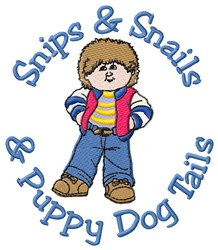 Boys Style embroidery design