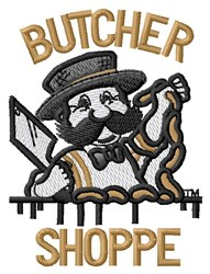 Butcher Shoppe embroidery design