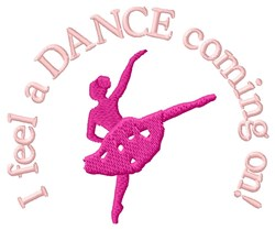 Feel a Dance embroidery design