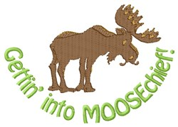 Moosechief embroidery design