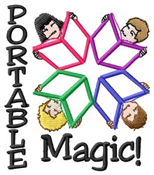Portable Magic embroidery design