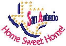 San Antonio embroidery design