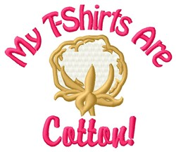 Cotton T-Shirt embroidery design