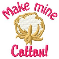 Cotton embroidery design