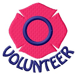 Volunteer embroidery design