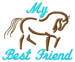 Horae Friend embroidery design