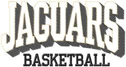 Jaguars Basketball embroidery design