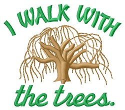 Walk With Trees embroidery design