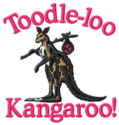 Toodle-Loo embroidery design