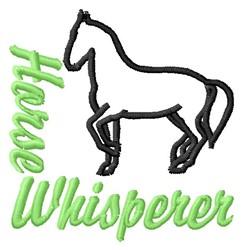 Whisperer embroidery design