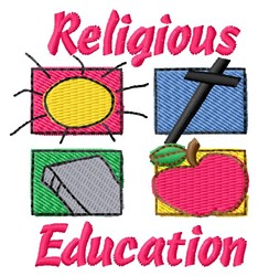 Religious Education embroidery design