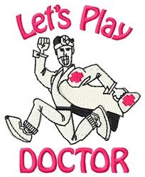 Play Doctor embroidery design