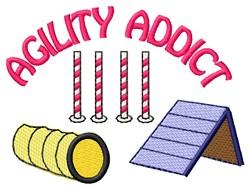 Agility Addict embroidery design
